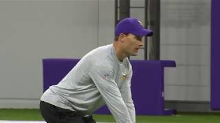 First look at Kirk Cousins throwing deep ball at Vikings practice