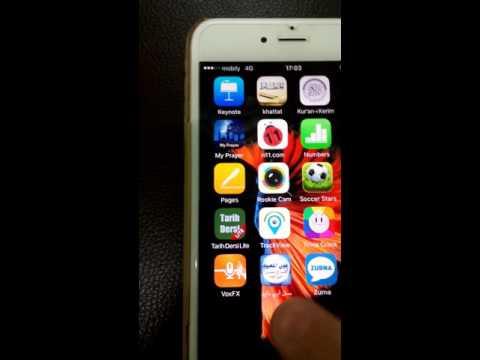 Iphone.  Ios silinmeyen uygulamalar nasil silinir