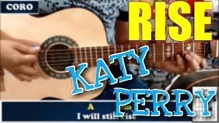 //Katy Perry - Rise//Tutorial completo Guitarra Acústica //HD//