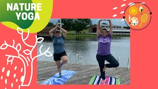 Nature Yoga with Counselor Kaitlin & Ms. Sarah
