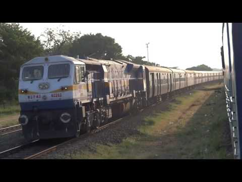 MUMBAI To CHENNAI - Full Journey : 11027 Mumbai - Chennai Mail : Indian Railways