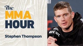 Stephen Thompson On KO Punch From Anthony Pettis: 'I Know I've Been Hit Harder Than That' Video