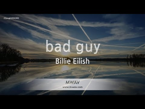 Billie Eilish-bad guy (Melody) (Karaoke Version) [ZZang KARAOKE]