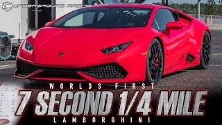 Underground Racing TT Lamborghini Huracan - 7.80 1/4 Mile Pass - World's First! thumbnail