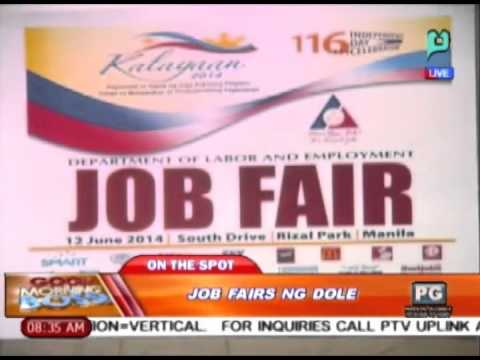 [Good Morning Boss] Panayam kay Nelson C. Hornilla ukol sa job fairs ng DOLE [06|09|14]