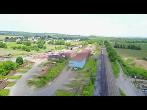 Lehigh & New England Tadmor yard