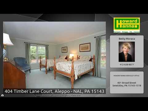 404 Timber Lane Court, Aleppo - NAL, PA 15143