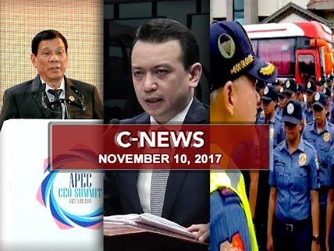 UNTV: C-News (November 10, 2017)
