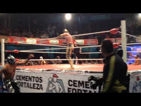 Lucha Libre Arena Coliseo Mexico 2014