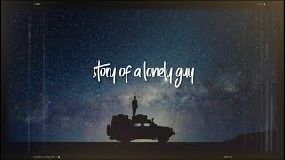Story of a Lonely guy (Blink-182) | Lyric video