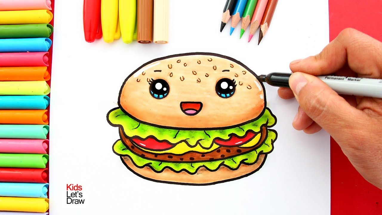 HAMBURGUESAS KAWAII