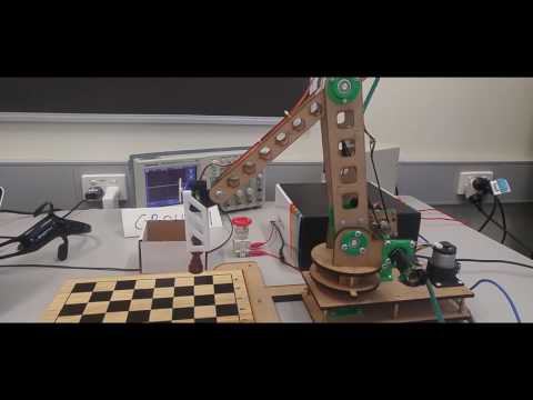 The Chess Playing Robot - Group 1, MCEN90028, 2016