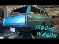 Baddest Wagon EVER! 1500hp Twin Turbo Nova