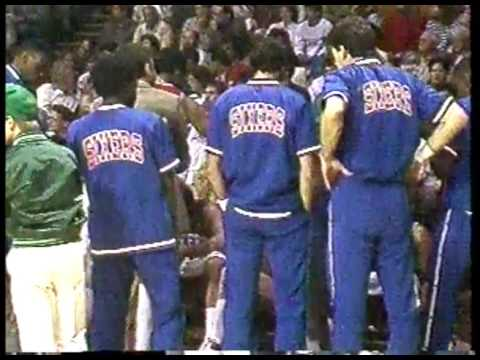 NBA - 1987 Eastern Conference Playoffs - 1st Round - Game 5 - Philadelphia 76