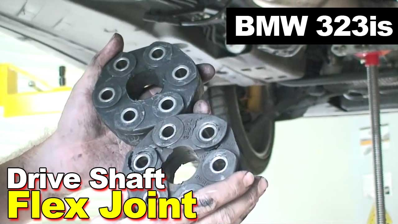 1998 Bmw 323is Drive Shaft Flex Joint Youtube
