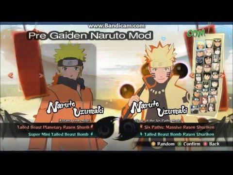 NUNS4 ~ Pre Gaiden/Ch. 699 Naruto MOD