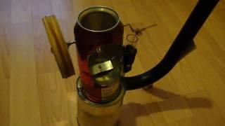 Pop can Stirling engine