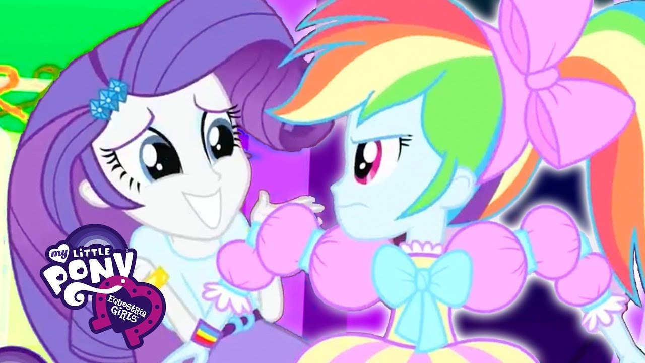 My Little Pony Equestria Girls Big Night Official Music Video My Little Pony Songs Youtube