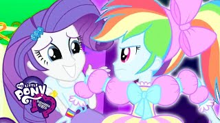 My Little Pony: Equestria Girls - 'Big Night' Official Music Video | My Little Pony Songs