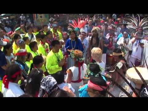 Water Is Life - H2opi Hopi/ Mexica Run to Mexico City