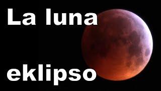 Mi observis la lunan eklipson | Esperanto vlogo