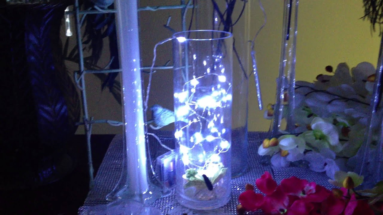 snowfall LED Lights Battery Operated 8 Tubes 30 CM,12 Inch long ...
