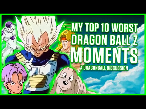 10 WORST MOMENTS IN DRAGON BALL Z | A Dragonball Discussion