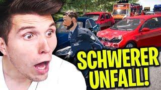 Riesiger VERKEHRSUNFALL auf der Autobahn! | Autobahn-Polizei Simulator