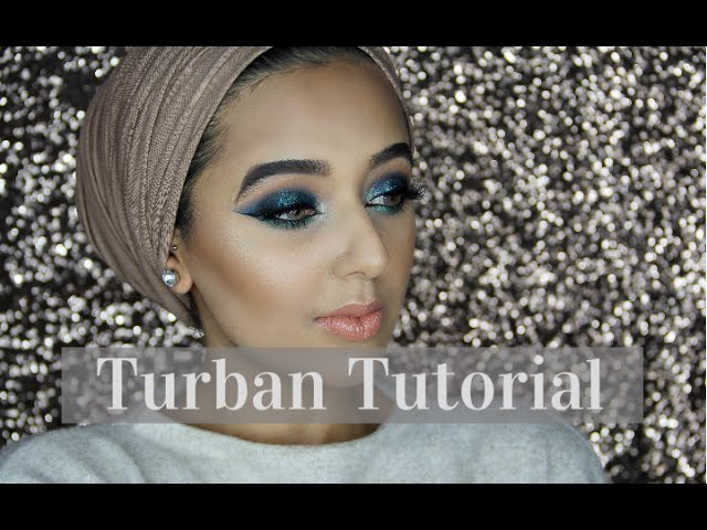 EASY & SIMPLE TURBAN TUTORIAL - NO PINS! | Annam Ahmad