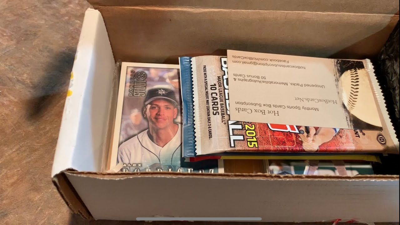 Opening My First Subscription Baseball Card Box Use Promo Code Jabs November Finalists