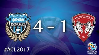 Video Gol Pertandingan Kawasaki Frontale vs Muang Thong United