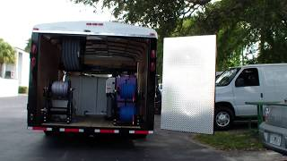 Enclosed trailer Hydro Tek