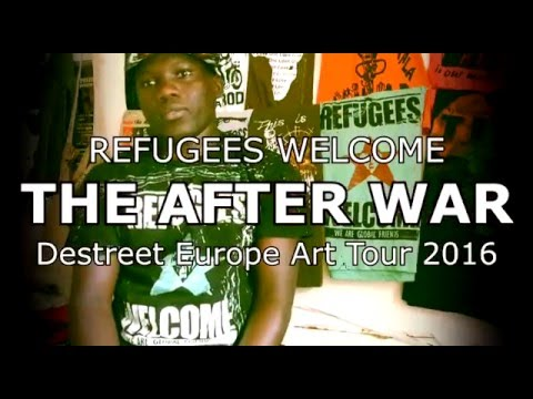 Destreet to go on a Europe Charity  Art tour 2016