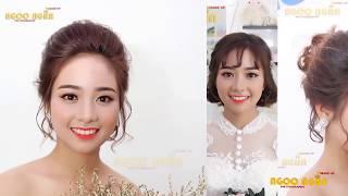 Make-up cô dâu (Bài ca tuổi trẻ 3 - Ngọc Ngần 2018)