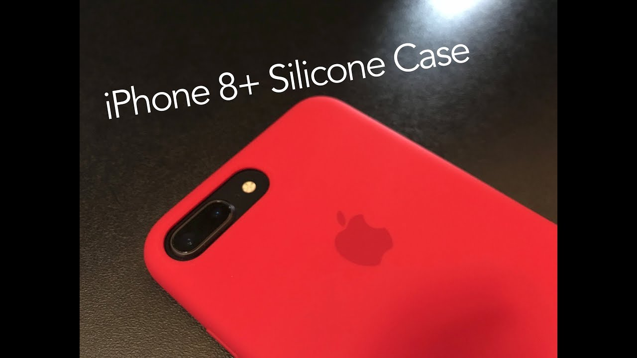 big sale b9bd8 d729f iPhone 8 Plus Silicone Case (Product RED)