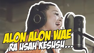 Dibalik Layar Take Vocal Alon Alon Wae nih guys... hehe