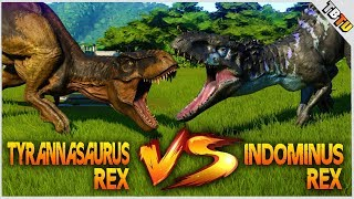 Today in Jurassic World Evolution Dinosaur Battles We pit the Tyran...