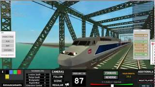 Roblox terminal railways Tgv Reseuau review