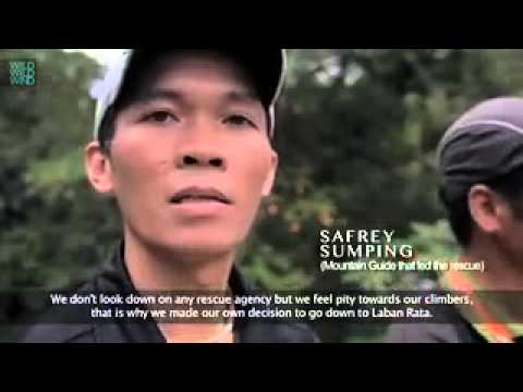 Sabah Earthquake: True Story from Mountain Guide Kinabalu also known as Malim Gunung Kinabalu