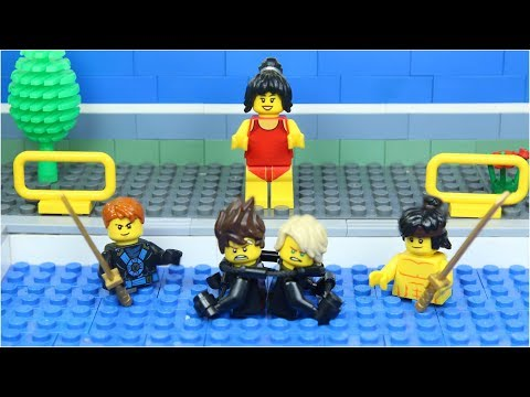Lego Swimming Pool NinjaGo Superhero Civil War