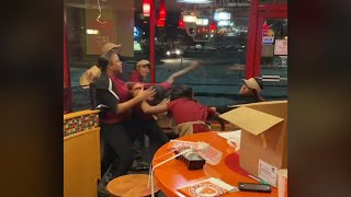 Seven Employees Fired After Brawl at Milwaukee Popeye's Caught on Video