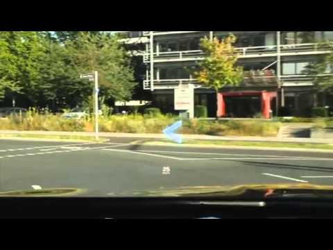 Augmented Reality Head-up Display by Continental
