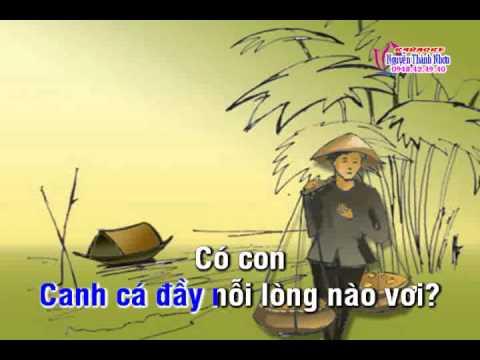 Karaoke tân cổ NỖI BUỒN MẸ TÔI - JIMMY TRAN