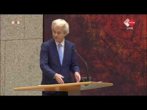Inbreng Geert Wilders Debat Regeringsverklaring 2017