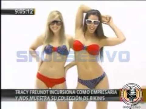 Melissa Loza y Alessandra Zignago en sexy bikinis - YouTube