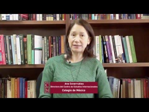 Ana Cobarrubias, directora del Centro de Estudios internacionales del Colegio de México