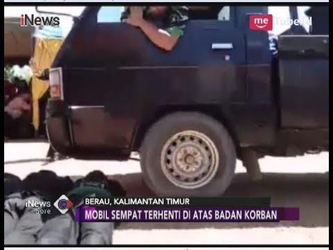 Tragis!! Detik-detik Santri Tewas saat Atraksi Dilindas Mobil di Berau - iNews Sore 05/05