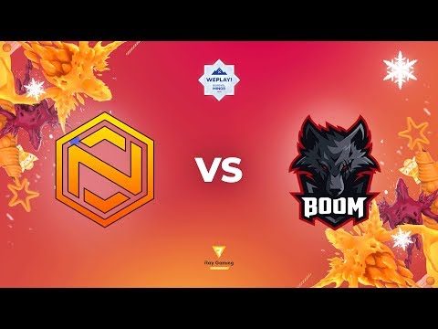 Neon Vs BOOM ID - Map1 | En-VODs | WePlay! Bukovel Minor | Qualifiers
