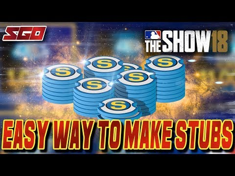 How to Make Stubs in MLB The Show 18!