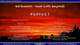 Ed Sheeran   Ft. Beyoncé - Perfect Duet- Traduzione Italiano || Inglese (testi paralleli)